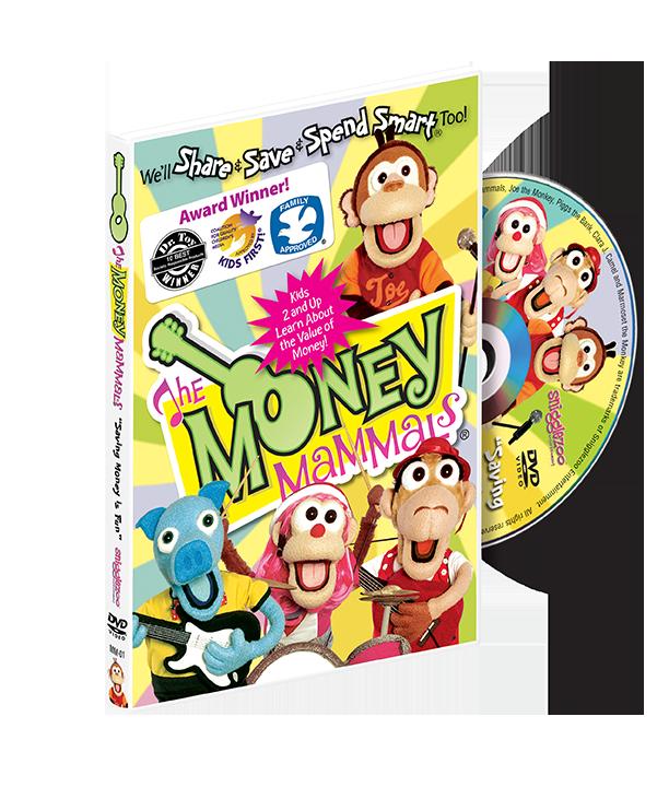Money Mammals DVD Image