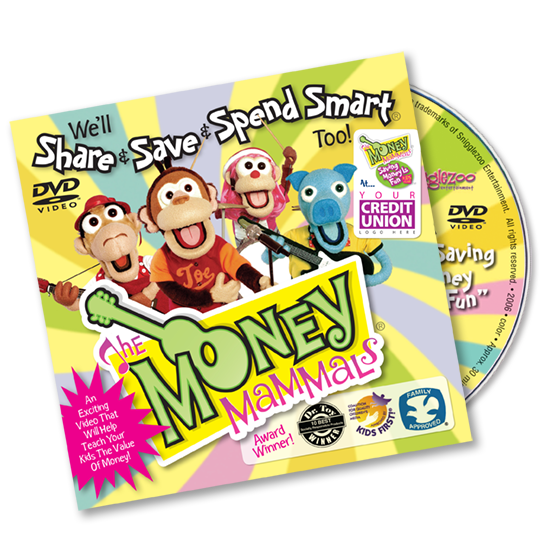 Money Mammals DVD (sleeve) Image