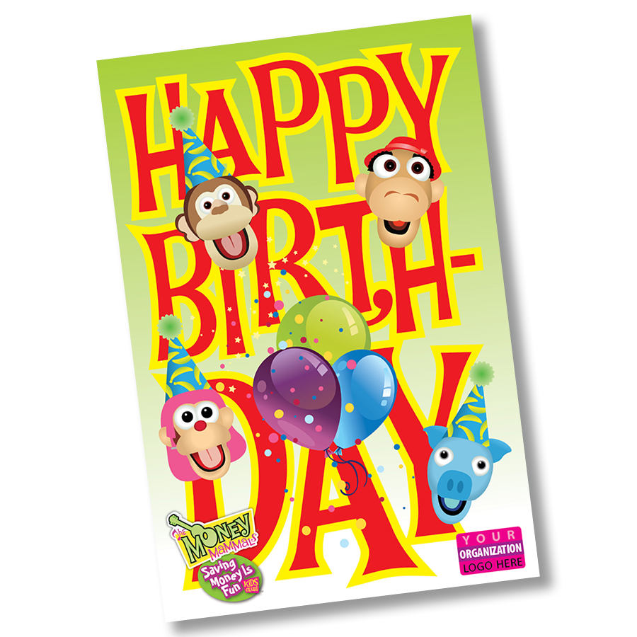 Birthday Postcard Image